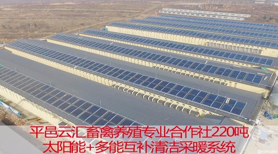 平邑县农场太阳能+锅炉供暖项目